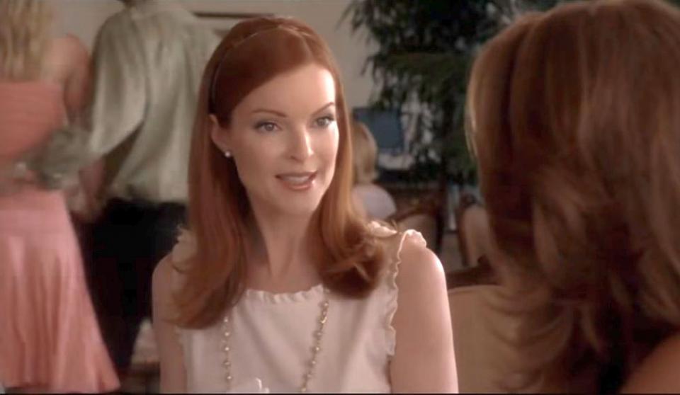 """Marcia Cross, aici într-o secvență din serialul """"Neveste disperate"""", a anunțat că a făcut cancer anal de la infecția cu o tulpină a virusului HPV"""