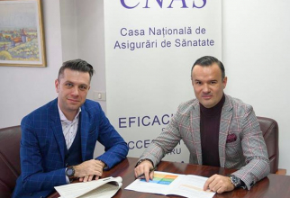 Daniel Osmanovici și Răzvan Vulcănescu au enervat-o pe Viorica Dăncilă. Foto: CNAS/Facebook