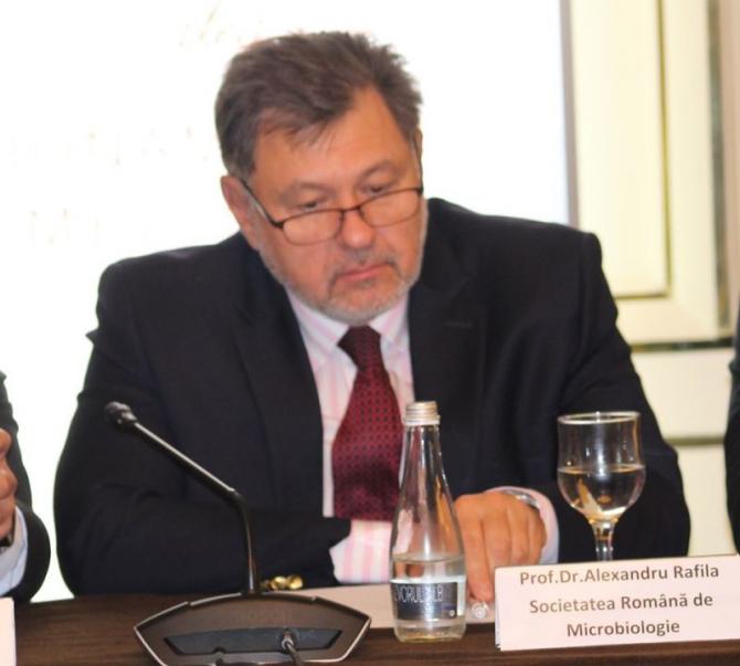 Alexandru Rafila, președintele Societății Române de Microbiologie  FOTO: DC Media Group