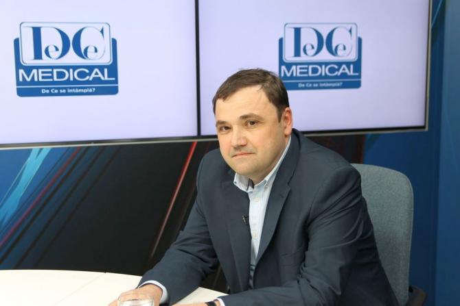 Dr Dan Jinga, oncolog  FOTO: DC Medical