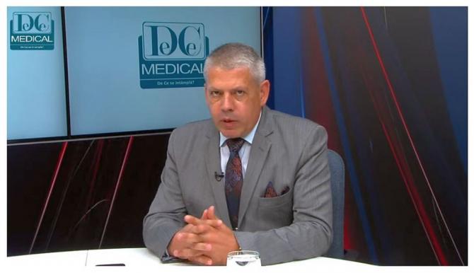 Dan Zaharescu, directorul executiv al ARPIM. Foto: DC MEDICAL