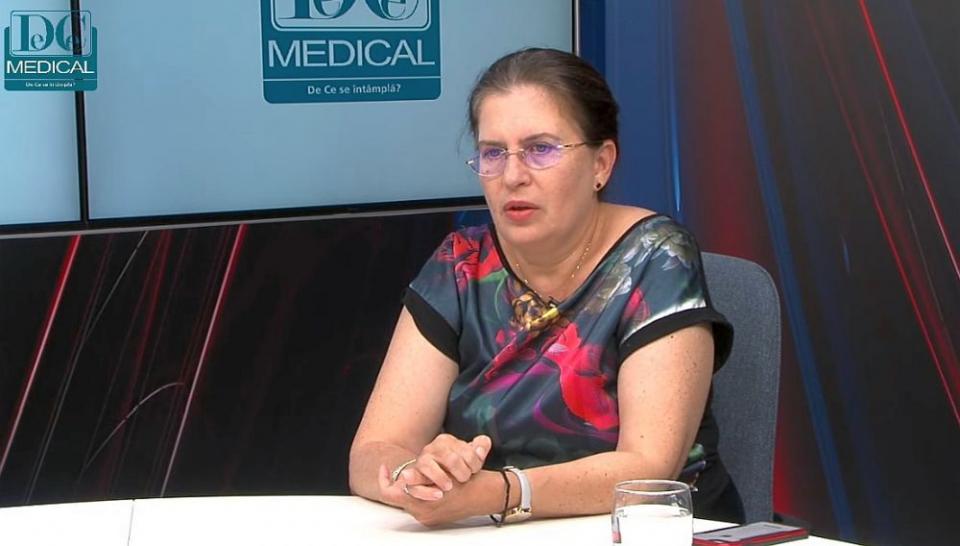 Dr Carmen Gherghinescu, medic primar cardiolog. Foto: DC Medical