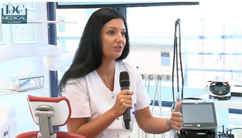 Dr Diana Constantinescu este specializată în tratamente cu laser