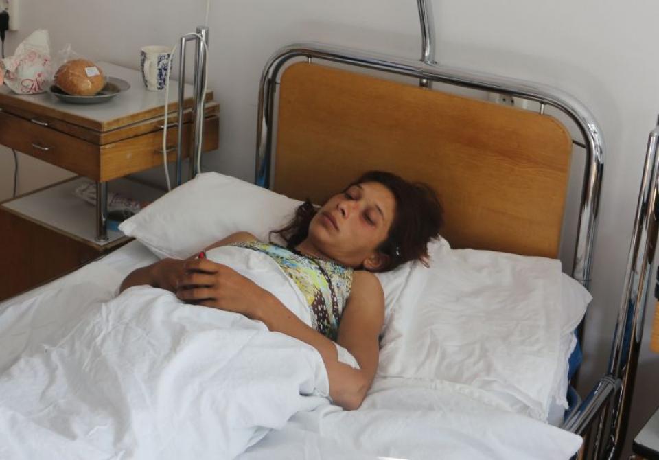 Femeia atacată de urs se află internată în Spitalul Județean din Miercurea Ciuc  FOTO: CJ Harghita