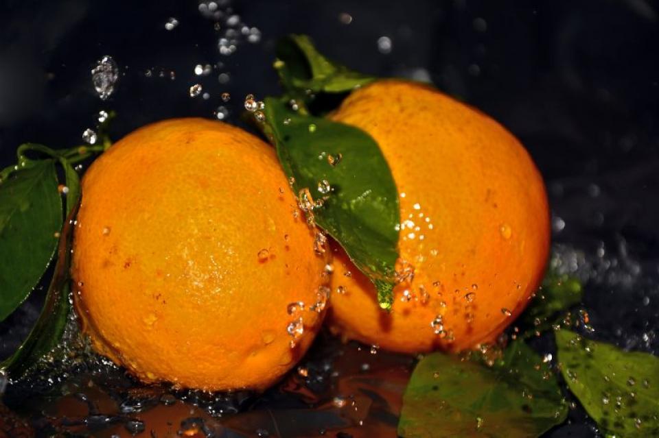 Portocale în apă  FOTO: Pixabay
