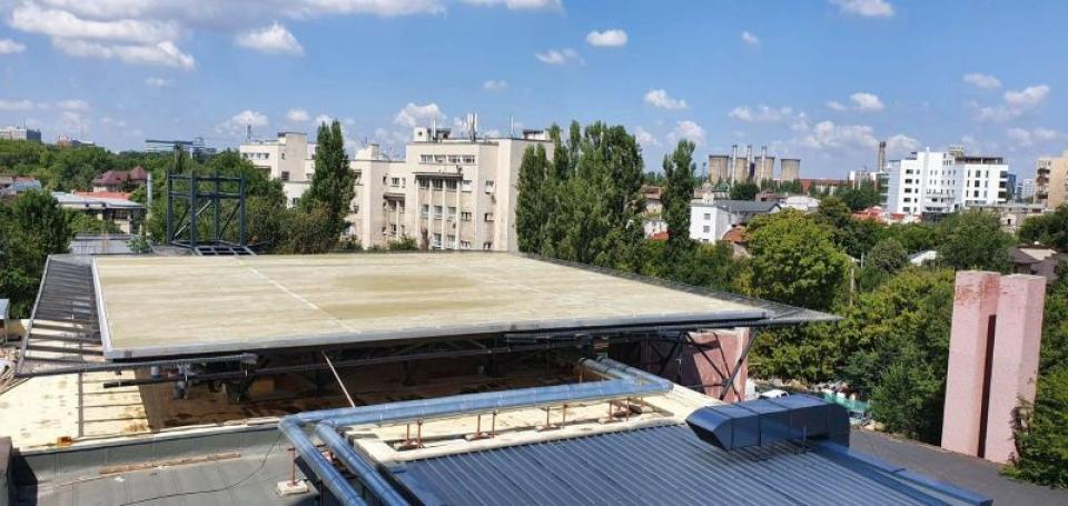 Un heliport se va construi pe acoperișul Spitalului Universitar de Urgență București   FOTO: Facebook SUUB