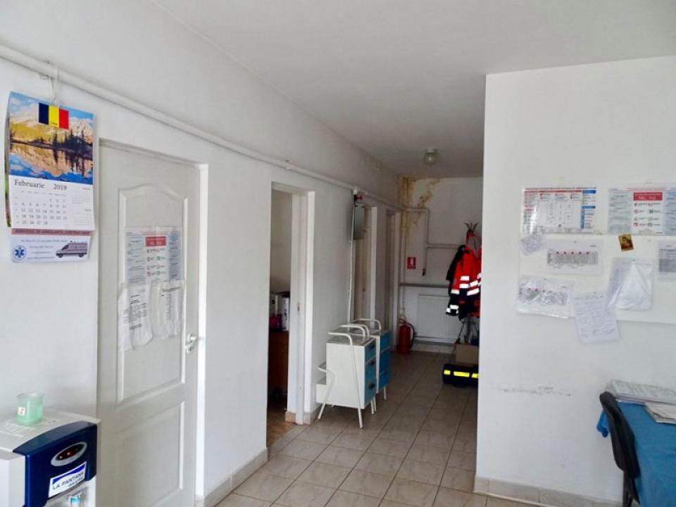 Interior din Spitalul de Boli Cronice din Sebiș, județul Arad  FOTO: Facebook ADR Vest