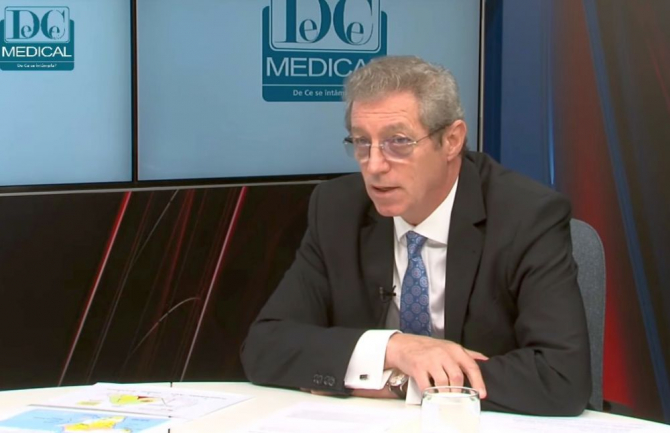 Prof dr Adrian Streinu-Cercel. Foto: DC Medical