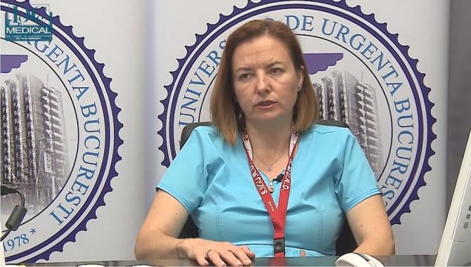 Dr Silvia Nica, seful Unității de Primiri - Urgențe de la SUUB. Foto: DC Medical