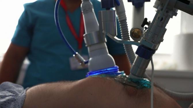 Revascularizație miocardică prin unde de șoc extracorporale. Foto: Daniel Iancu/Spitalul Militar