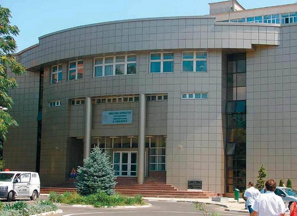 Ambulatoriul Spiptalului Militar Carol Davila din București. Foto: SCUMC