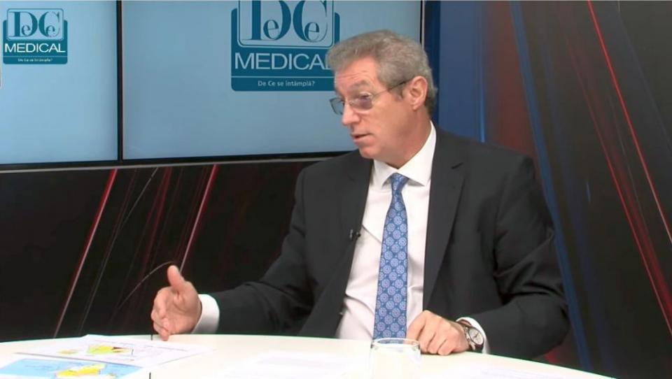 Prof dr Adrian Streinu-Cercel. Foto DC MEDICAL
