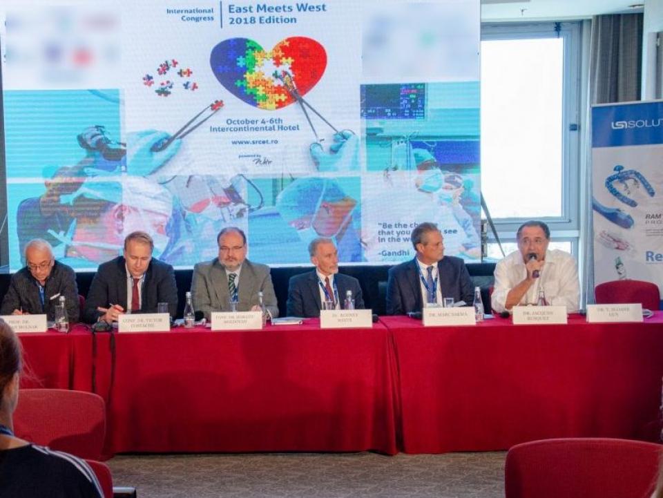 În 2018, Congresul East Meets West a reuniuni sute de specialiști din țară și din străinătate
