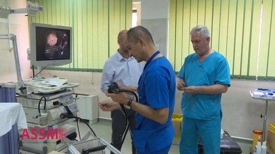 Endoscopie, workshop la Spitalul Colentina