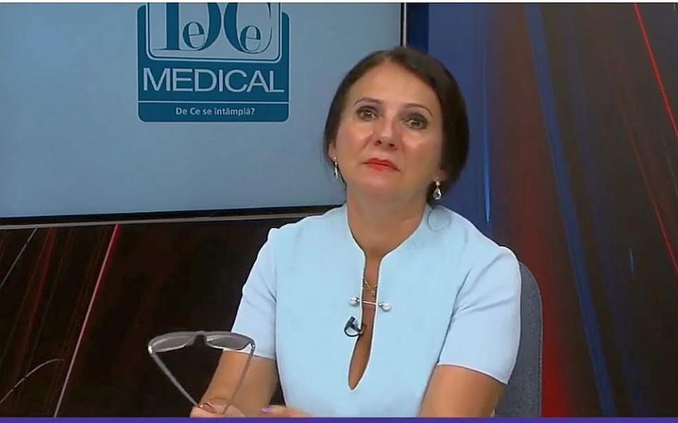 Sorina Pintea, ministrul Sănătății. Foto: DC Medical