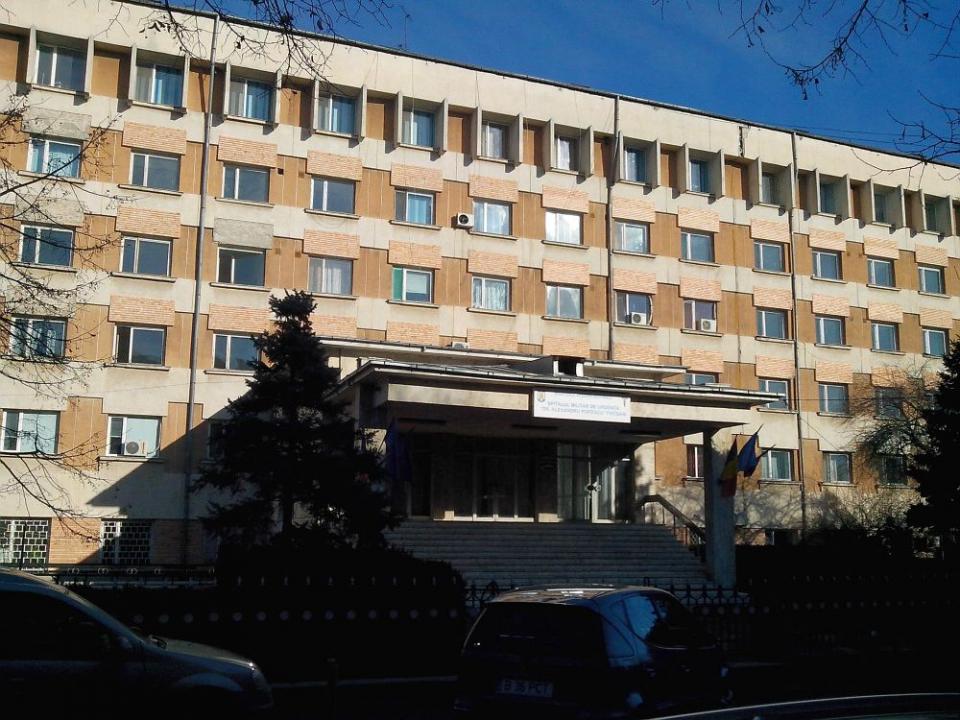 """Spitalul Militar de Urgență """"Dr. Alexandru Popescu"""" din Focșani, Vrancea"""