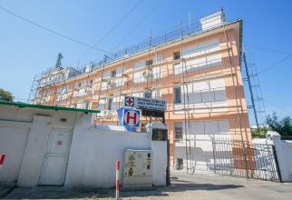 Clădirea Spitalului de Boli Infecțioase din Iași FOTO: realitateadeiasi.net