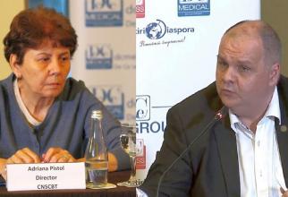 Dr Adrian Pistol și Dr Florin Buicu, schimb de replici aprinse. Foto: DC Medical
