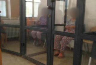 Pacienții închiși separat la Spitalul din  Sighetu Marmației. Foto: CRJ