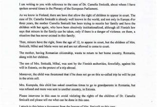 Scrisoare oficială Maria Grapini