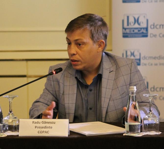 Radu Gănescu, președinte COPAC
