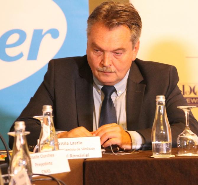 Dr. Laszlo Attila de la  Comisia de Sănătate a Senatului
