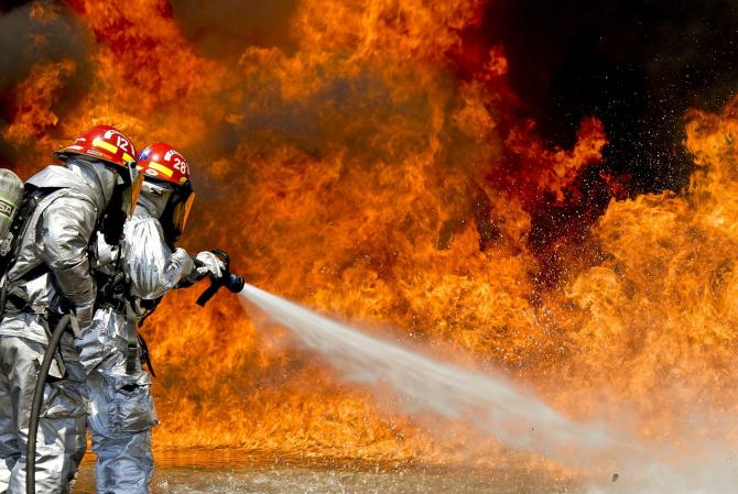 Opt bebeluși au murit într-o maternitate, în urma unui incendiu