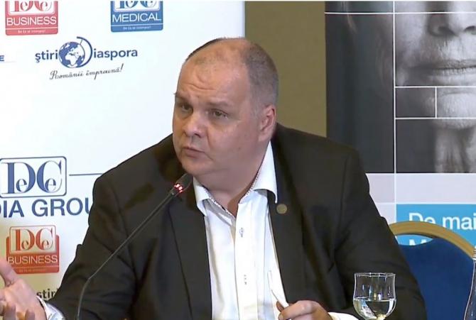 Dr Florin Buicu, președintele Comisiei de Sănătate din Camera Deputaților. Foto: DC Medical