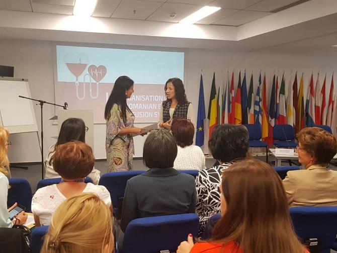 Sorina Pintea la workshop  FOTO: Facebook - Ministerul Sănătății-România