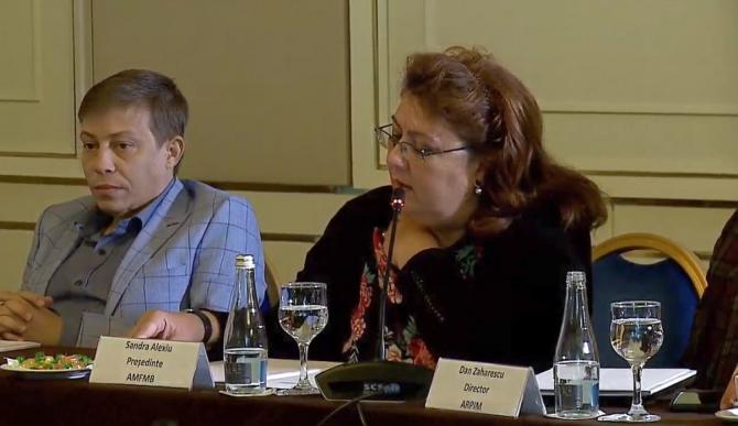 Dr Sandra Alexiu, președintele Asociaţiei Medicilor de Familie Bucureşti Ilfov. Foto: DC Medical
