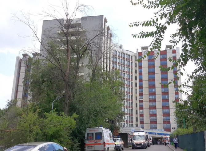 Spitalul Universitar de Urgență  București. Foto: DC Medical