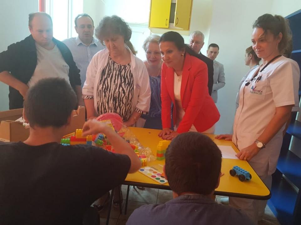 Ministrul Sănătății, în vizită la Spitalul de Psihiatrie Cronici Poiana Mare din județul Dolj