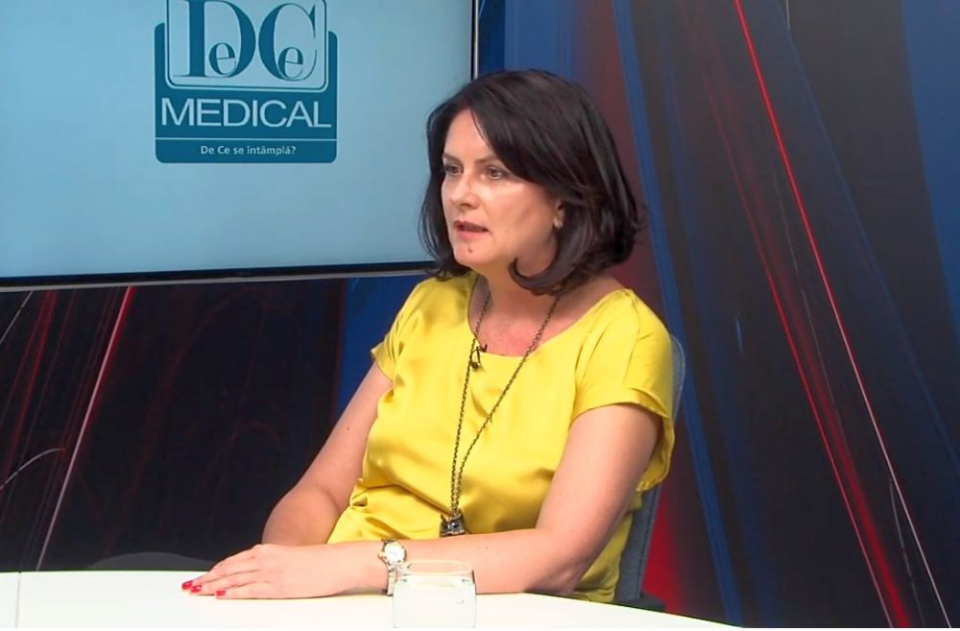 Dr Adriana Camuescu, alergolog. Foto: DC Medical