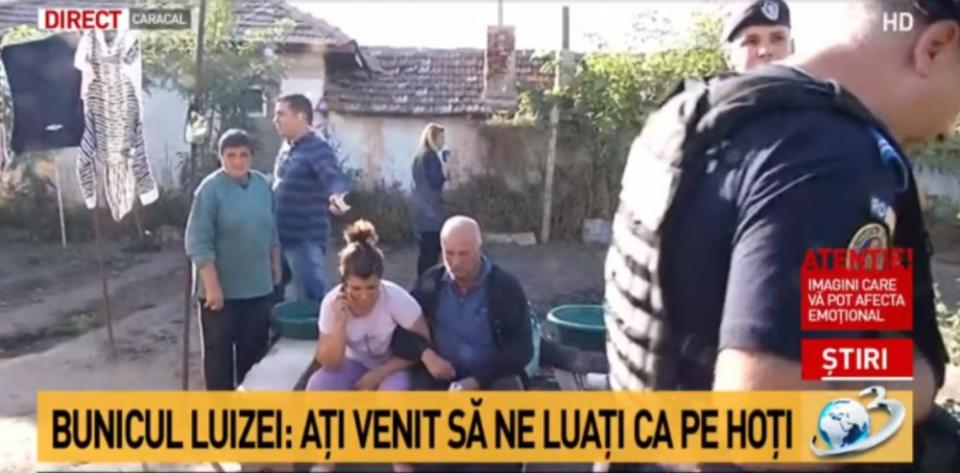 Bunicul și mama Luizei Melencu au probleme de sănătate