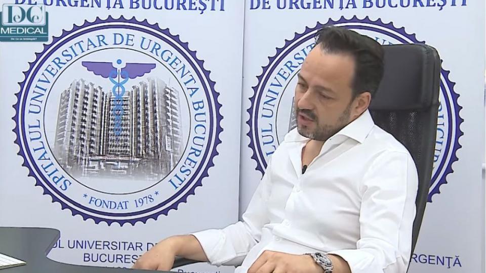 Conf univ dr Cătălin Badiu. Foto: DC Medical