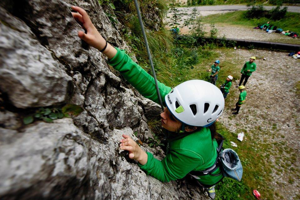 Puști la Festivalul de Cățărat în Natură  FOTO: Asociația Climb Again