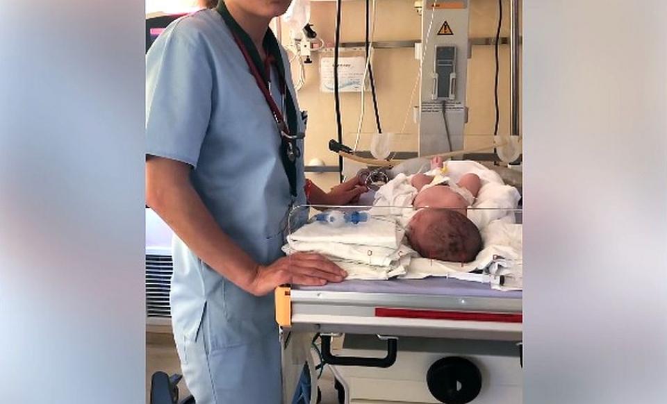 Echipamentul medical donat de Salvati Copiii România