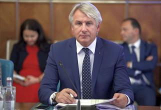 Eugen Teodorovici, ministrul interimar de Finanțe. Foto: gov.ro