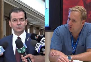 Ludovic Orban și conf univ dr Victor Costache