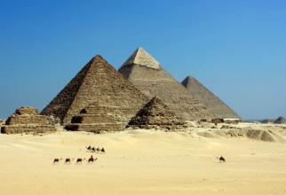 Egiptenii își îngropau faraonii în piramide  FOTO: pexels.com