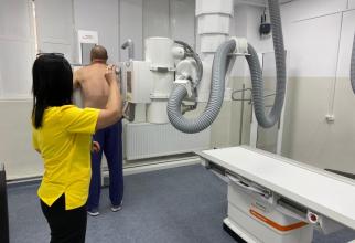 Aparat de ultimă generație în Laboratorul de Radiologie a spitalului Colentina    Foto: Facebook Spitalul Colentina
