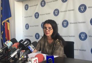 Sorina Pintea, ministrul Sănătății  FOTO: DC Medical