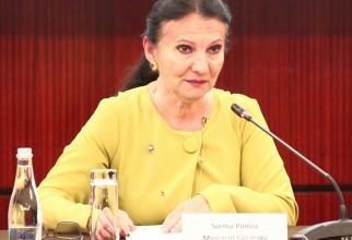 Sorina Pintea, ministrul interimar al Sănătății