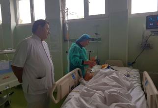 Sorina Pintea a vizitat astăzi pacientele rănite în accidentul de sâmbătă dimineață, din Ialomița