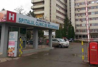 Spitalul Clinic de Recuperare Iași. Foto: Realitatea de Iași
