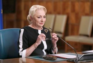 Premierul Viorica Dăncila. Foto: gov.ro