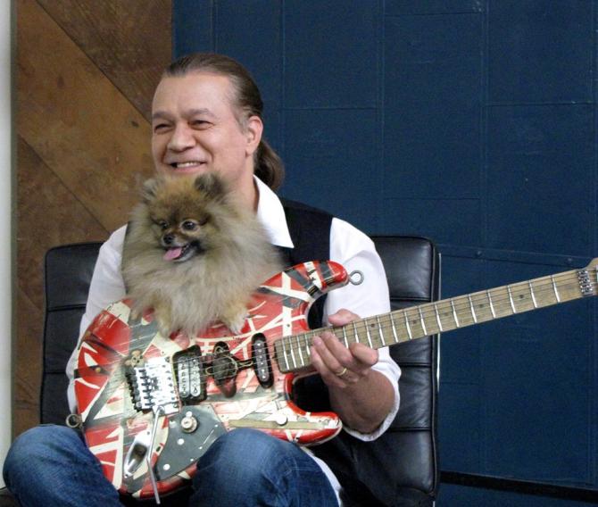 Eddie Van Halen bănuieşte că a dezvoltat cancer oral din cauza penelor de chitară din metal, pe care le-a folosit peste două decenii şi pe care obişnuia să le ţină în gură.