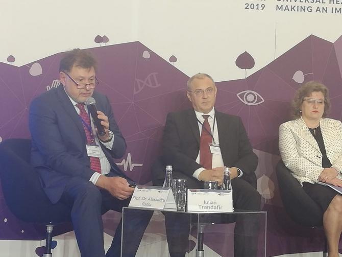 Alexandru Rafila, președintele Societății Române de Microbiologie  FOTO: Georgiana Ioniță