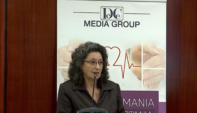 Paula Coman, director economic la Antibiotice Iași  FOTO: DC Media Group