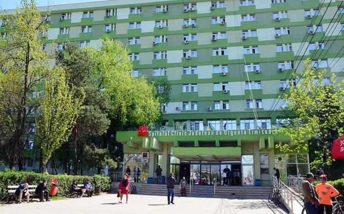 Spitalul Județean de Urgență Timișoara. Foto: SCJUPBT